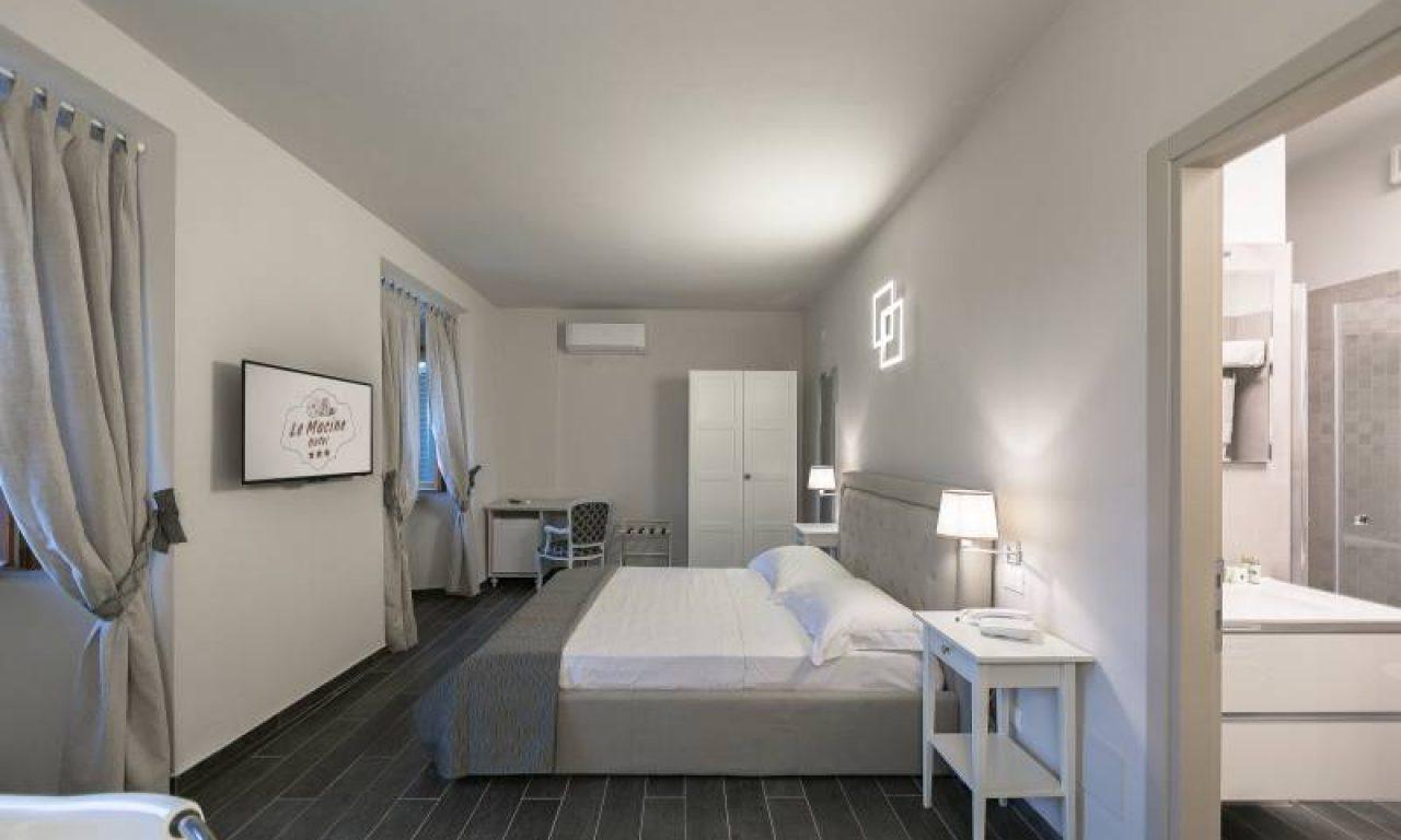 Chambres De Luxe avec jacuzzi - Hotel a Montaione - Albergo Le Macine